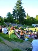 Concert at Portland's Experimental Rose Garden