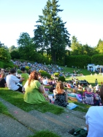Concert at Portland's Experimental Rose Garden
