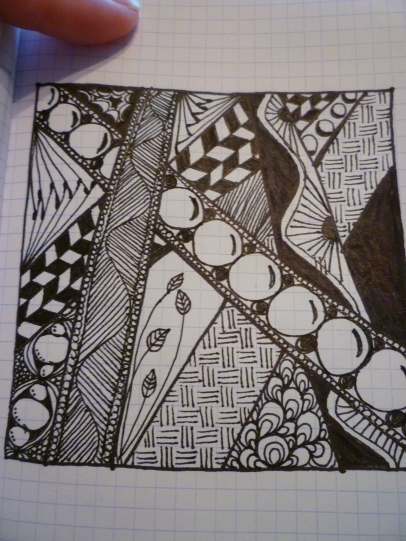 Zentangle - Tangle Within