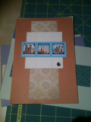 Orange card - Paris series