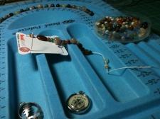 Prayer Beads in process