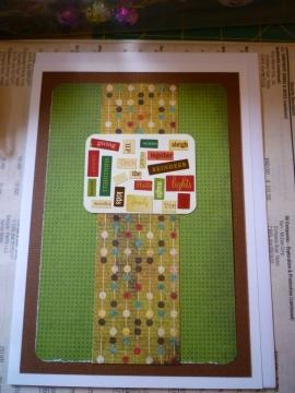 Christmas Card series - Word Mosaic #2