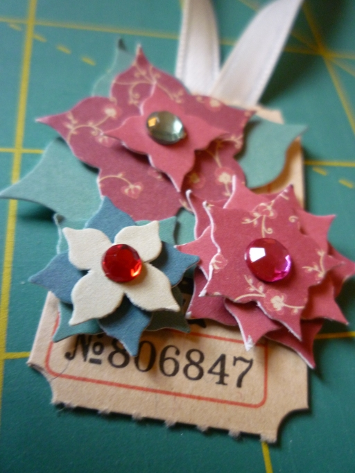 Christmas Tag series - Flowers