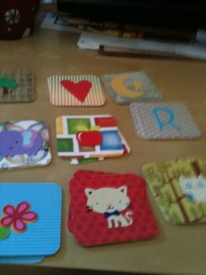 Paper Craft Cricut Memory Cards