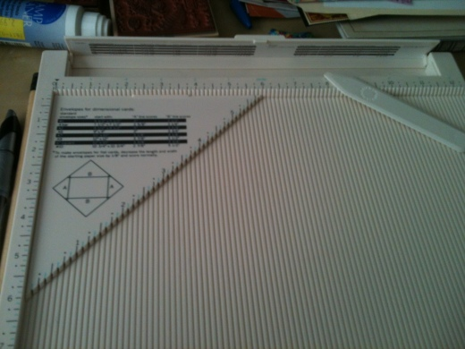 Paper Craft Toys Creasing Board