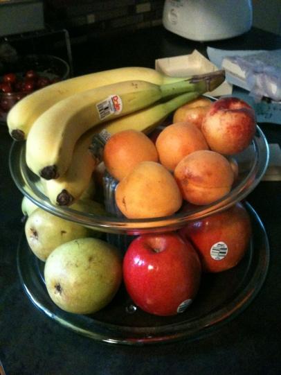 Upcycled Fruit Dish Happily Employed