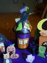 Decoration. Spooky Village Finished House 2