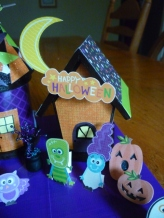 Decoration. Spooky Village Finished House 3