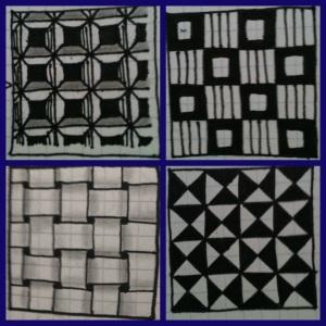 Dex, Carres, W2, Pinwheels