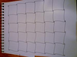 Zentangle. Sampler blank