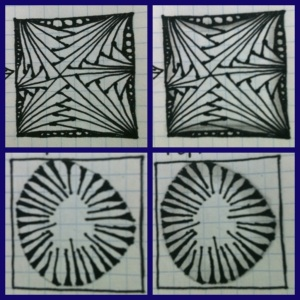 Zentangle. shading 3
