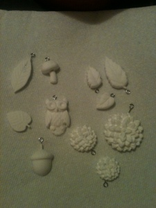 Unpainted Charms