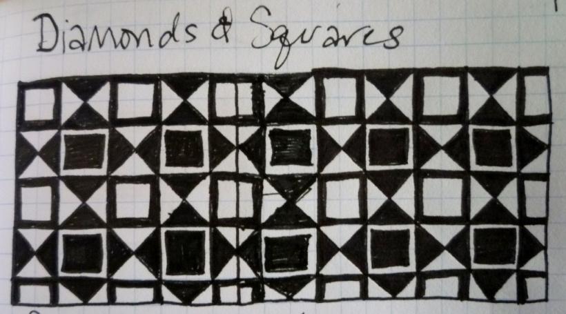 ZT. Diamonds and Squares