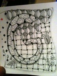 Zentangle. G