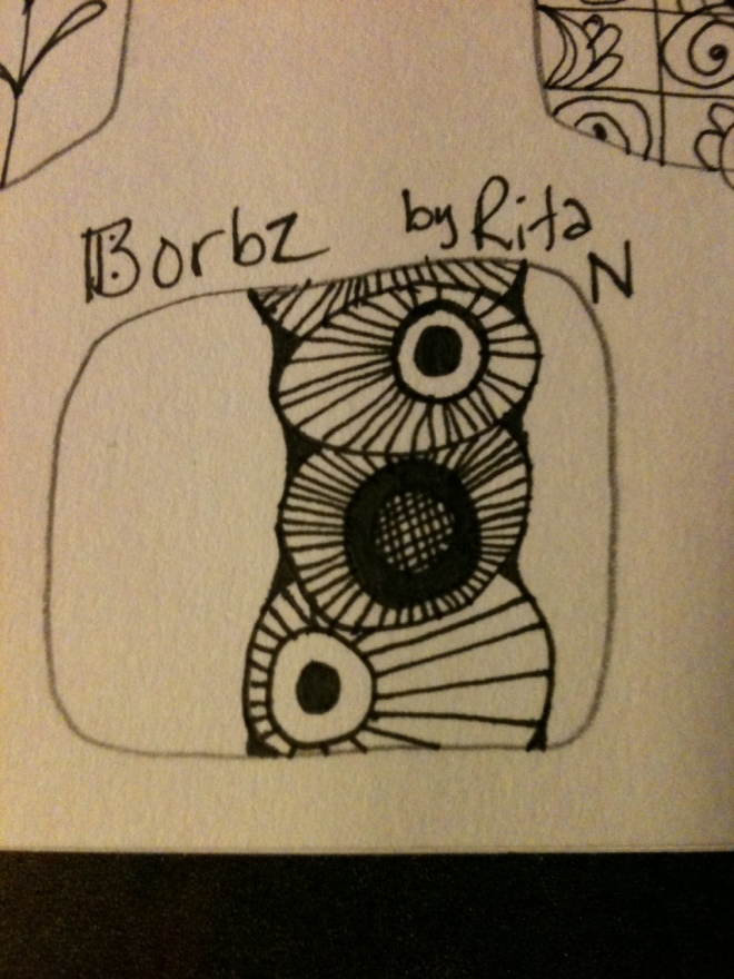 Zentangle Borbz