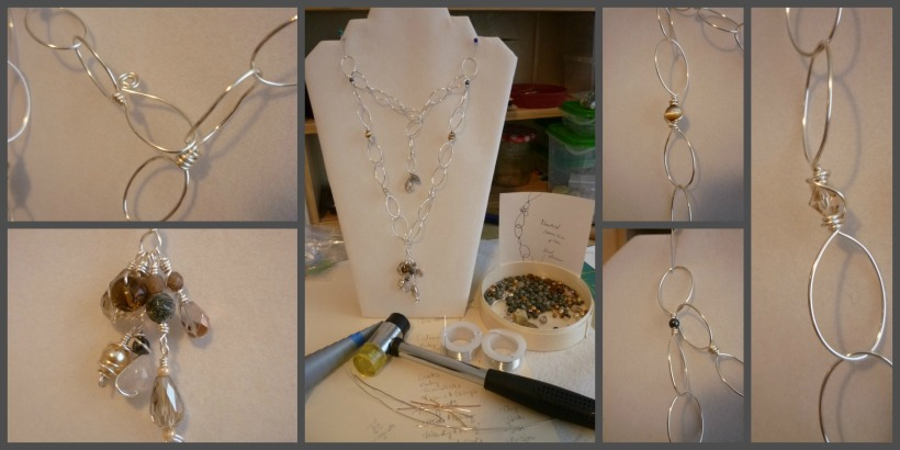 Neutral Necklace Collage