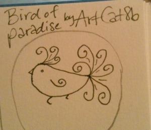 Bird of Paradise by ArtCat8b