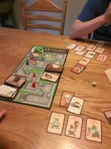 Munchkin tabletop game