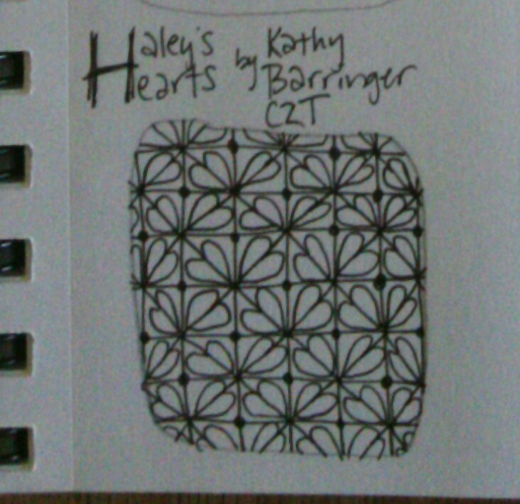 Haley's Hearts by Kathy Barringer, CZT