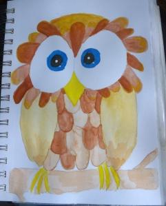 ArtJournal_Owl