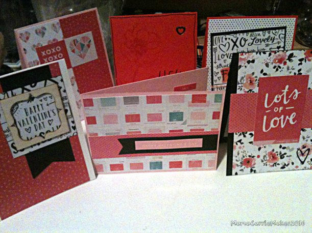 Simon Says Stamp Card Kit February Valentines Day