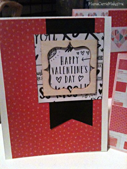 Simon Says Stamp Card 01 February Valentines Day