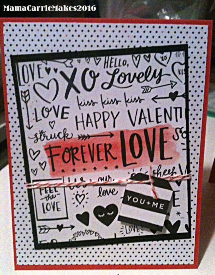 Simon Says Stamp Card 02 February Valentines Day